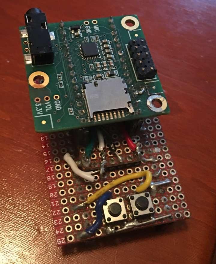 teensy audio board adapter