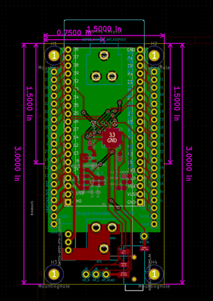 Most current revision of the pcb